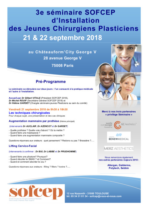Séminaire Jeunes 21/22 Septembre 2018