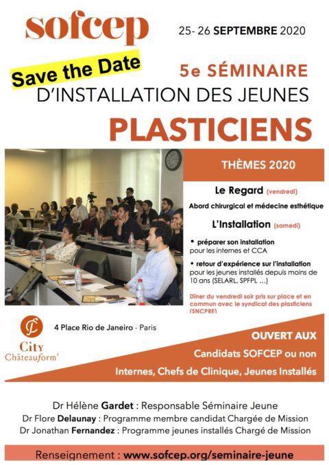 Séminaire d'installation Jeunes Plasticiens 25-26 septembre 2020